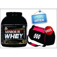 Whey Protein Supplement At Best PriceGXN Armour Whey Strawberry Milkshake 3.2 Kg