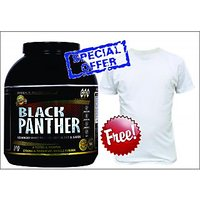 Whey Protein Supplement- Genuine-GXN Black Panther Strawberry Milkshake 3.2 Kg