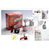 Mini Electric Sewing Machine With Battery Electricity Power Mode And Pedal
