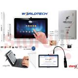 Wordltech Tablet 7 Wi Fi 3g Dongle Supported Intelligent Pad With Keyboard Case Cover
