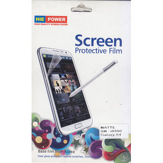 KMS HIE POWER Matte Screen Guard For Samsung Galaxy S4