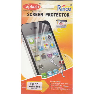 KMS Splash Rinco Screen Protector For Nokia Asha 308