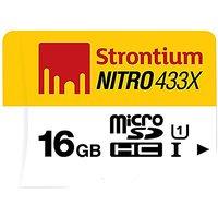 Strontium Nitro 16GB - Memory Card 65MB/s 433X Ultra High Speed Class 10