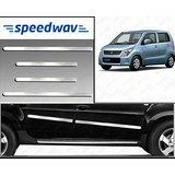 Speedwav Full Chrome Side Beading For Maruti Old Wagonr - Silver