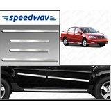 Speedwav Full Chrome Side Beading For Toyota Corolla - Silver