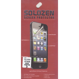 KMS SOLOZEN SCREENGUARD For Samsung Galaxy Note 3