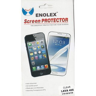KMS ENOLEX Clear Screen Protector For LAVA 405