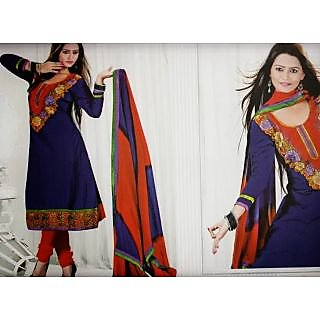 ATH Anarkali Suit With Embroidery Work