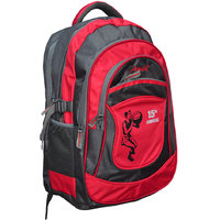 Attache Red Polyester School Bag