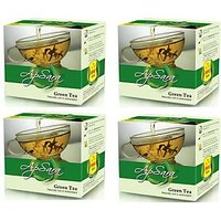 Apsara  Green Tea 4 Boxes of 100gm