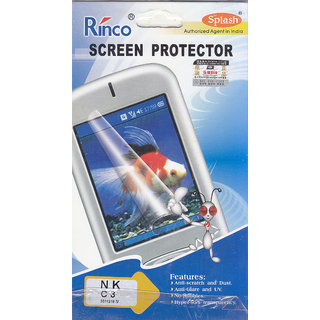 KMS Splash Rinco Screen Protector For Nokia C3