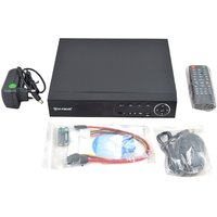 4 Channel DVR HI-FOCUS High Definition Standalone DVR 3G Dongle Support