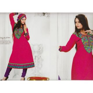 Designer Anarkali Suit with Embroidery Work