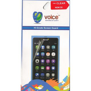 KMS VOICE Hi-Grade Screen Guard For Nokia C6