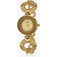 Aveiro Golden Analog women's Watch