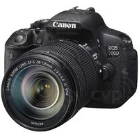 Canon EOS 700D 18.0 MP with 18-55mm + 55-250mm Lens + 8 GB card + Carry Case
