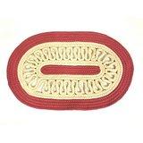 Handloomhub Oval Shaped Rope Door Mat