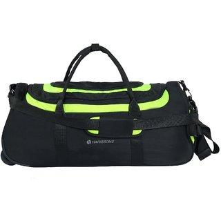 Harissons - Float Wheel Duffel - Green - Duffle/Travel Bag