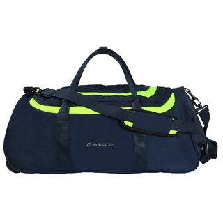 Harissons - Float Wheel Duffel - Blue - Duffle/Travel Bag
