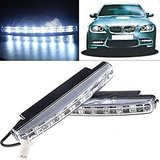 FREE Car Airfreshener Worth Rs 125 With 8 LED Super Bright Car Daytime Running  Bright Light