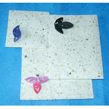 Blink White Handmade Envelope With Quilling Design ( Set Of 3)