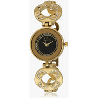 Aveiro Golden black dial  Analog women's Watch
