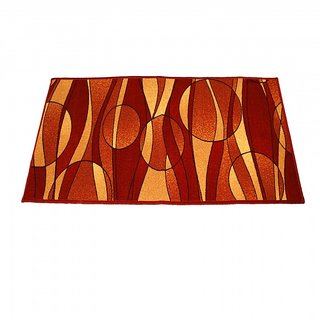 Ritika Carpets Multicolor Cotton Polyester Blend Floor Runner