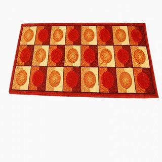 Ritika Carpets Multicolor Cotton Polyester Blend Floor Runner 1224