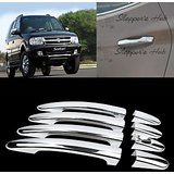 Chrome Door Handle Latch Cover Handle Cover For Tata Safari Dicor