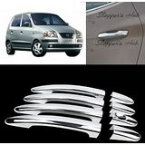 Chrome Door Handle Latch Cover Handle Cover For Hyundai Santro