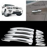 Chrome Door Handle Latch Cover Handle Cover For Mahindra Scorpio