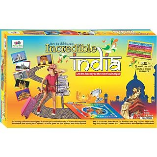 Board Game Incredible India Educational Toys