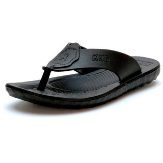 Mens Black EVA Slippers
