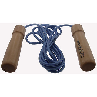 Designed Jump Rope with Wooden Handle Exercise Fitness Give You a Comfortable Gr