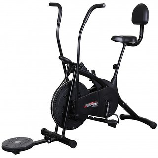 BODY GYM AIR BIKE BGA 2001 WITH BACKREST TWISTER