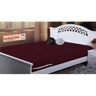 handloomdaddy water proof mattress cover (set of 2 pieces)03