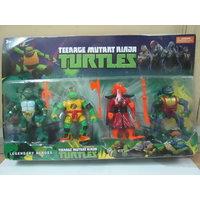 Action Figures Set of 4 Teenage Mutant Ninja Turtles