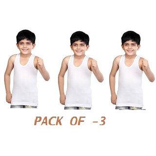 KidS Sleeveless Vest Pack Of 3