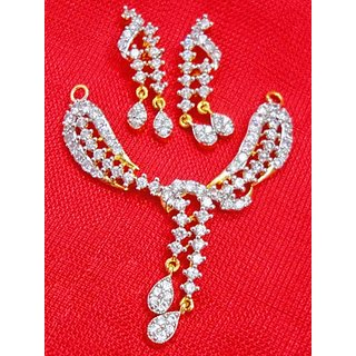 Maayra Beautiful American Diamond Studded Mangalsutra