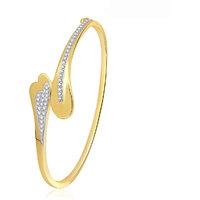 Meenaz Brilliant Design Cz American Diamond Cz Kada K-6
