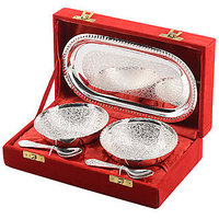 Silver Plated Bowl set BY THE PARI