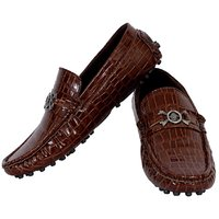 Elvace Brown Slip-on Loafer Men-6003