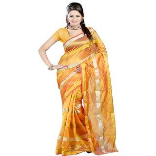 Sanju sarees Yellow Color Meghalaya Silk Sarees