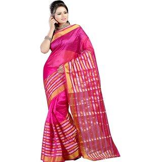 Sanju sarees Pink Color Meghalaya Silk Sarees