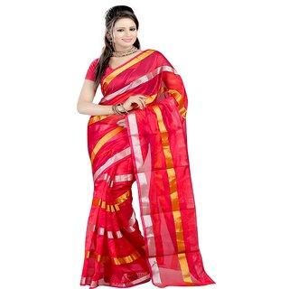 Sanju sarees Red Color Meghalaya Silk Sarees