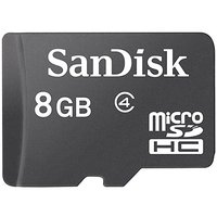 Sandisk 8Gb MicroSD card Class -4