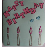 Candles Birthday Card