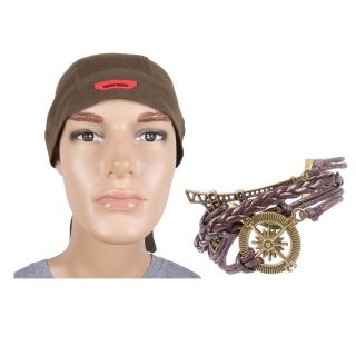 Clasic Headwrap & Wrist Band Combo JSMFHHR0106