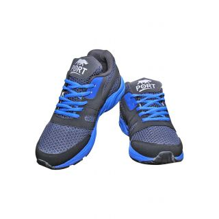 Port blue running shoes