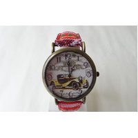 FRESHINGS - Trendy Wrist Watch With Attractive Strap And Dial(FKWAT-41)